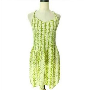 Banana Republic silk rope strap dress